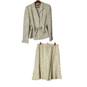 Vintage Albert Nipon Skirt Suit